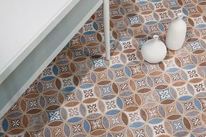Moresque Encaustic Effect Tiles